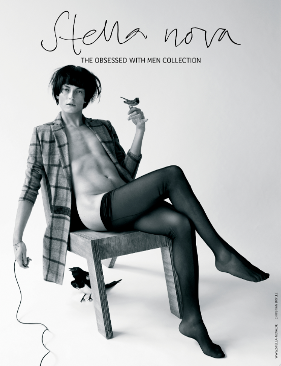 Christian Brylle is Quite Sassy for Stella Nova Fall/Winter 2012 Campaign
