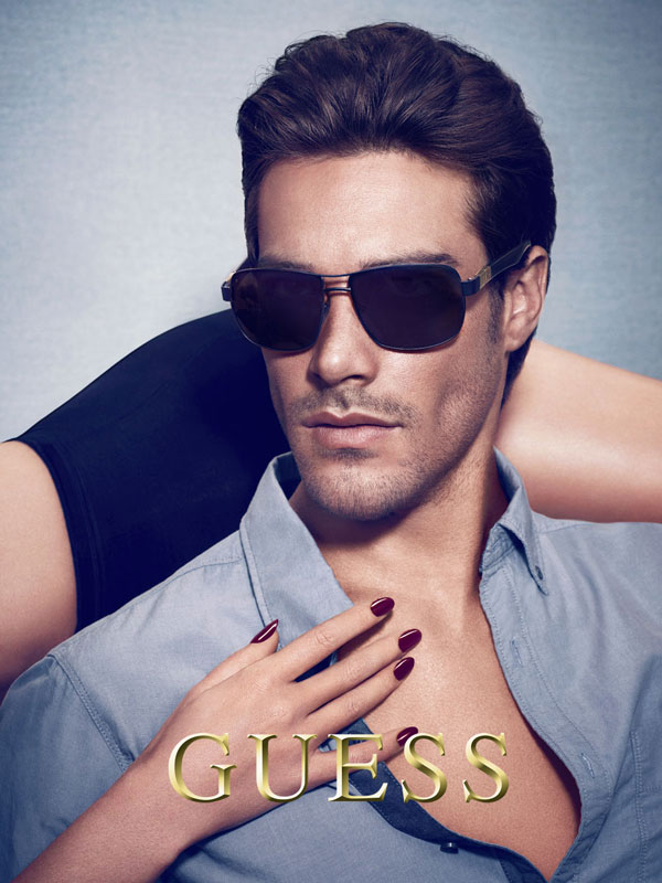 Goncalo Teixeira Stars in Guess' Fall/Winter 2012 Accessories & Underwear Campaign