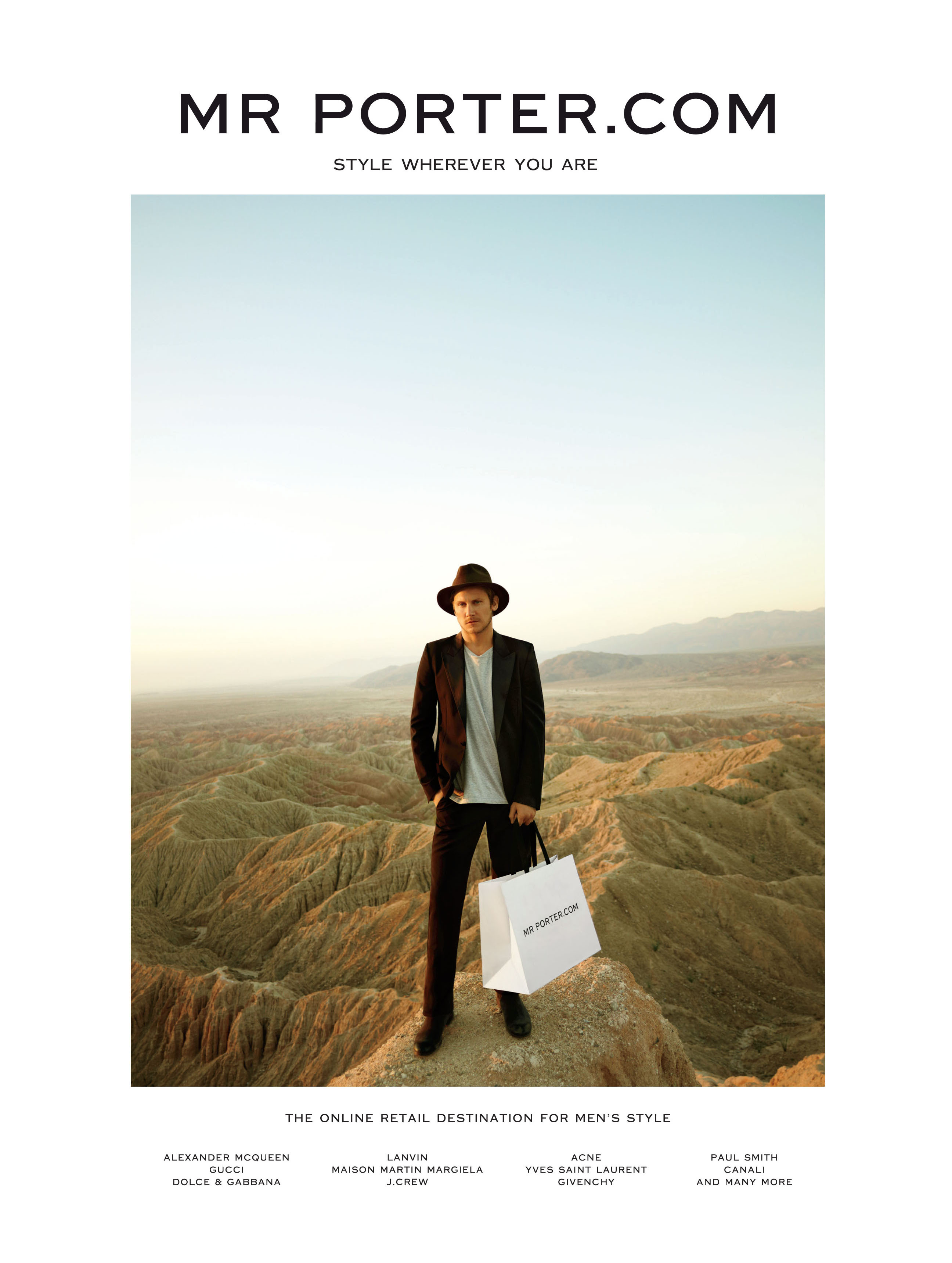 Mr Porter Travels the Globe for their Fall/Winter 2012 Campaign