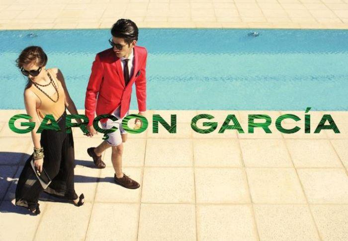 Chris Garcia is Poolside for Garçon García Spring/Summer 2013 Campaign