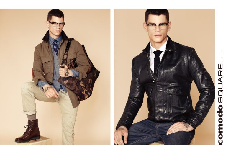 Christopher Wetmore has Smart Appeal for Comodo Square Fall/Winter 2012 Campaign