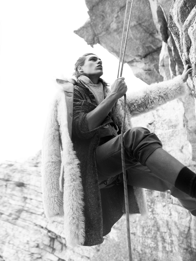 Ton Heukels, Travis Smith & Ian Mellencamp are the Ultimate Climbers for VMAN #27