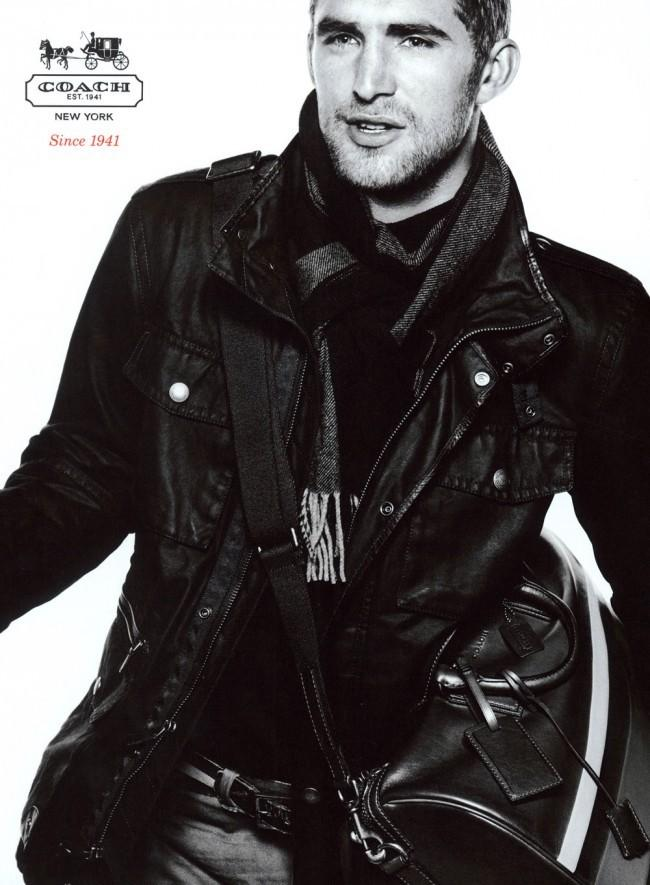 Will Chalker Fronts Coach Fall/Winter 2012 Campaign by David Sims