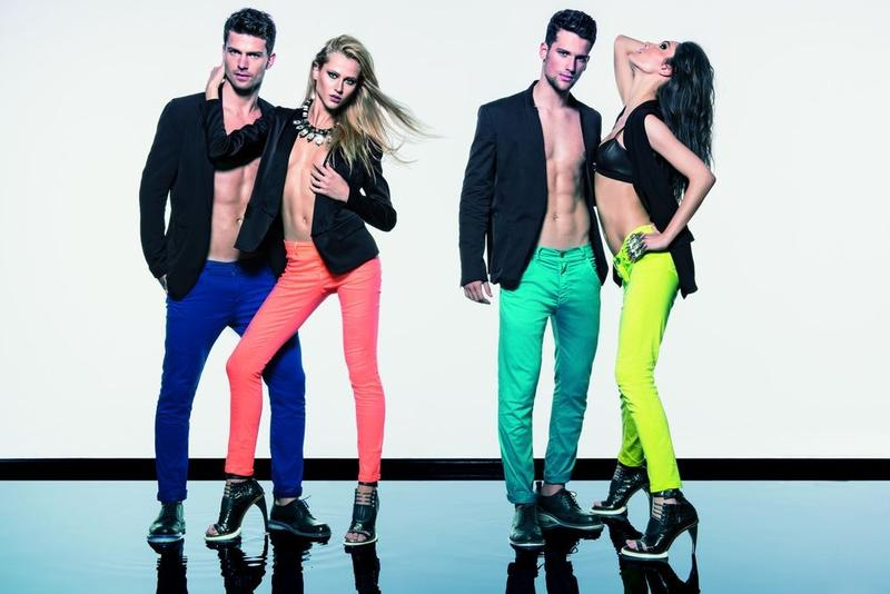 Arthur Sales & Michael Camiloto are Color Savvy for Elluus Spring/Summer 2013 Campaign