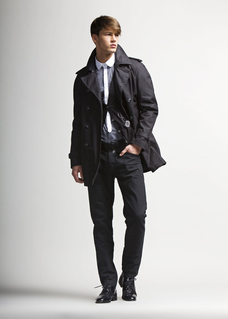 Alfred Kovac Sports Contemporary Styles for Love Moschino Fall/Winter 2012 Lookbook