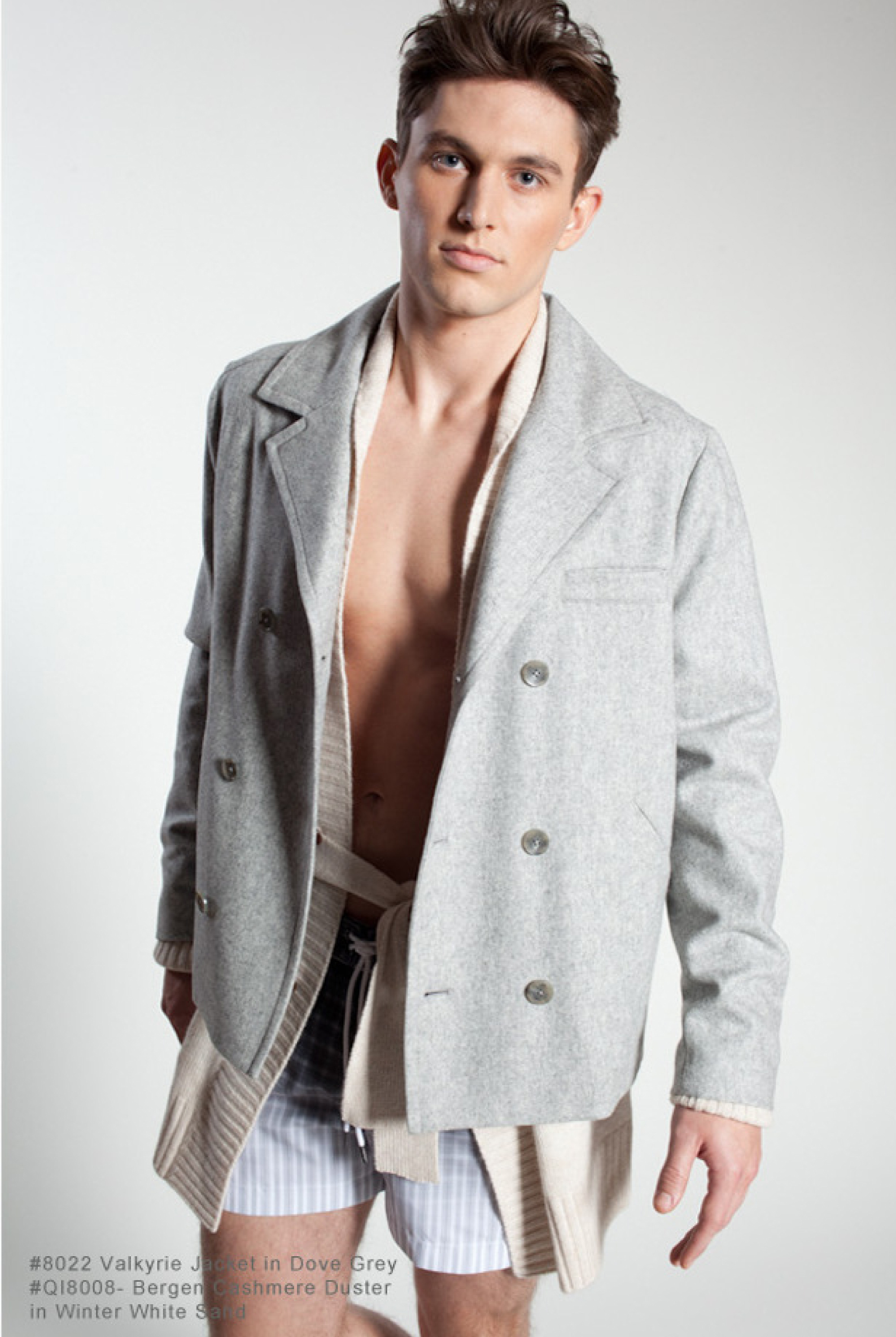 Travis Bland is Clad in Soft Fall 2012 Fashions for Parke & Ronen