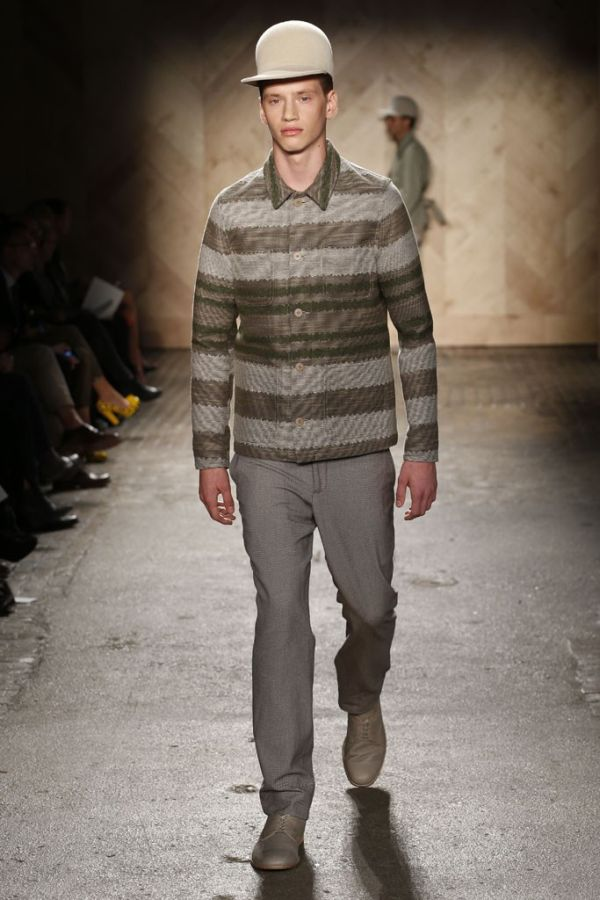 Taylor cowan archives the fashionisto perry ellis by duckie brown springsummer 2013 new york fashion week voltagebd Images