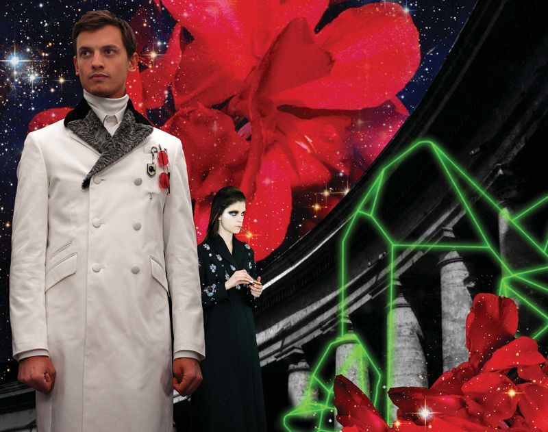Prada Marries the Past, Present & Future for their Fall/Winter 2012 'Real Fantasies'