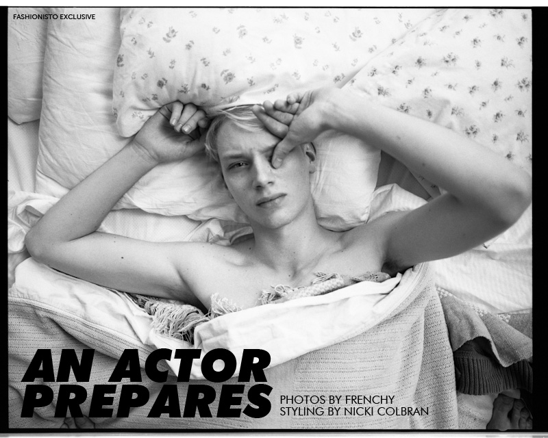 Richard Kranzin in 'An Actor Prepares' by Frenchy for Fashionisto Exclusive