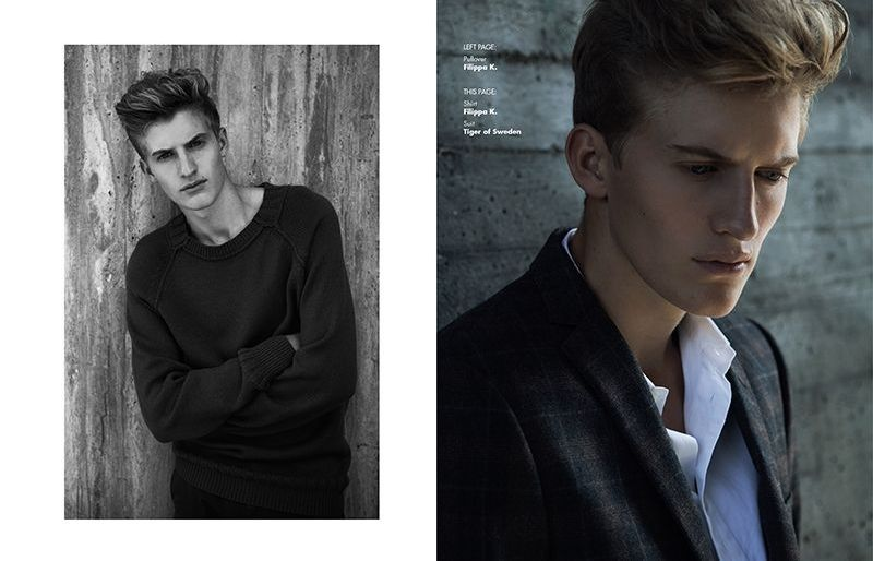 Henrik Wallden in 'When in Stockholm' by Dennis Weber for Fashionisto Exclusive