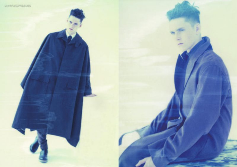 Anders Hayward is Clad in Dior Homme for Commons & Sense Man