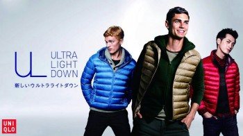 Arthur for Uniqlo Ultra light campaign
