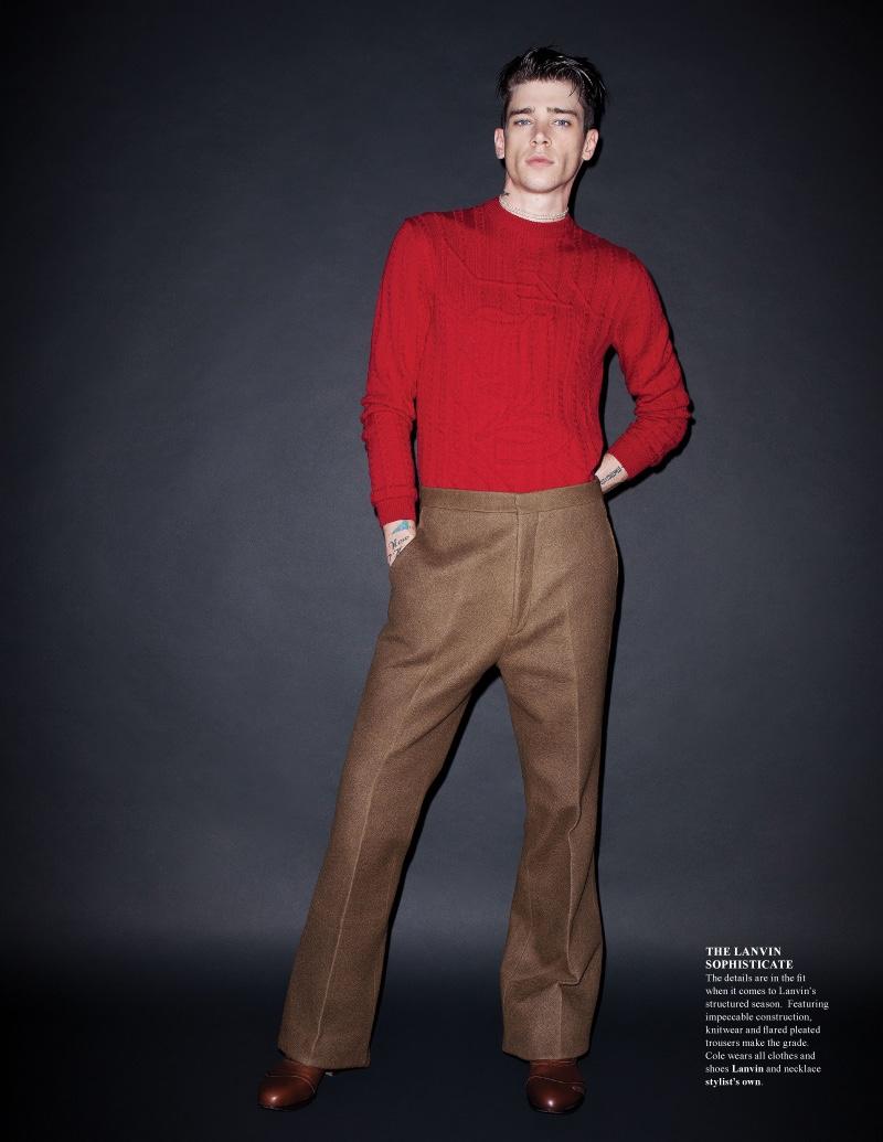 Cole Mohr & Yuri Pleskun by Jens Ingvarsson for Fashionisto Fall 2012