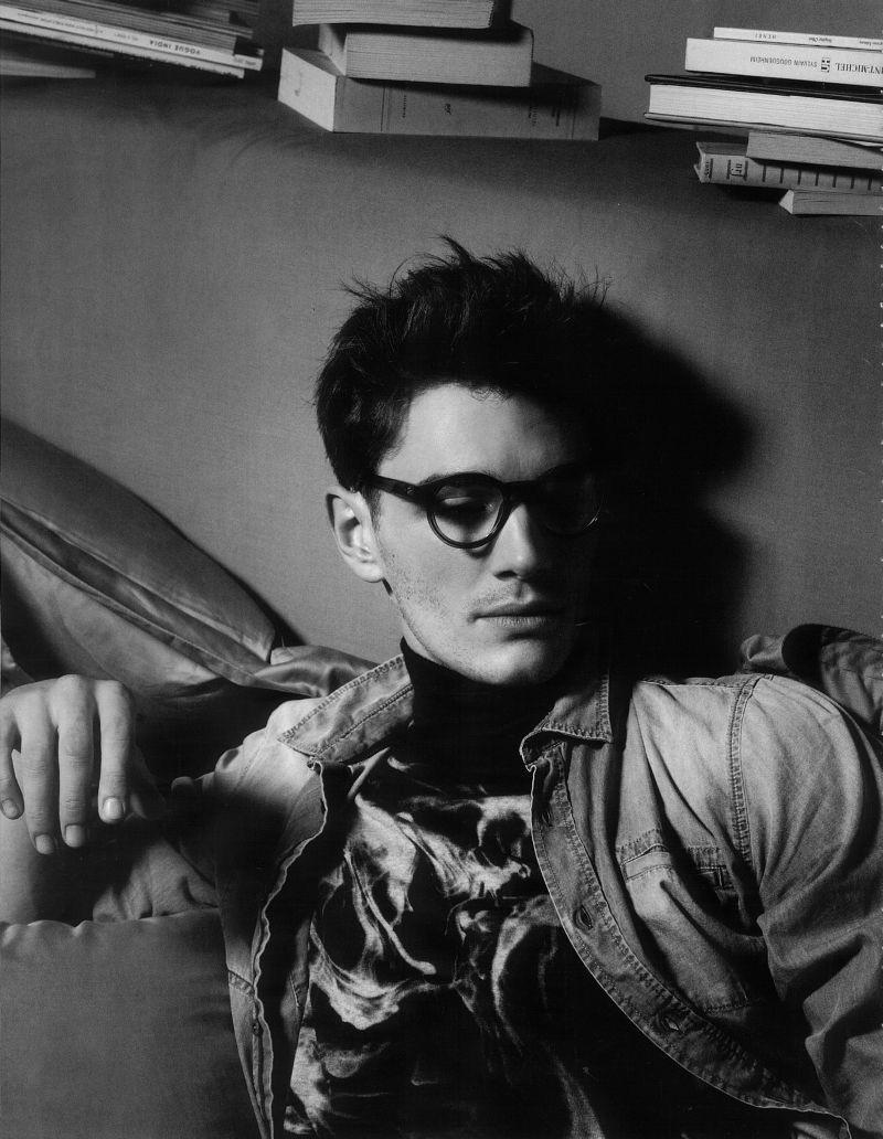 Karl Lagerfeld Photographs Julien Sabaud for Numéro Homme