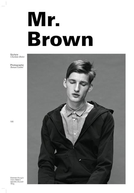 Pascal Bonvie Relaxes with Spray Magazine