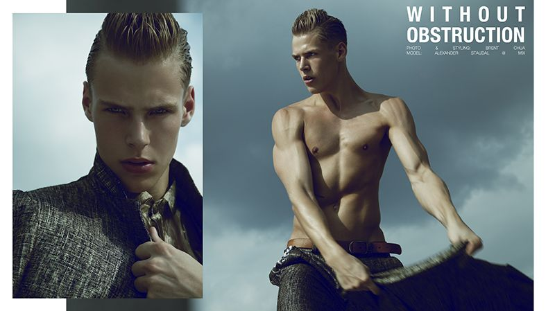 Alexander Staudal in 'Without Obstruction' by Brent Chua for Fashionisto Exclusive