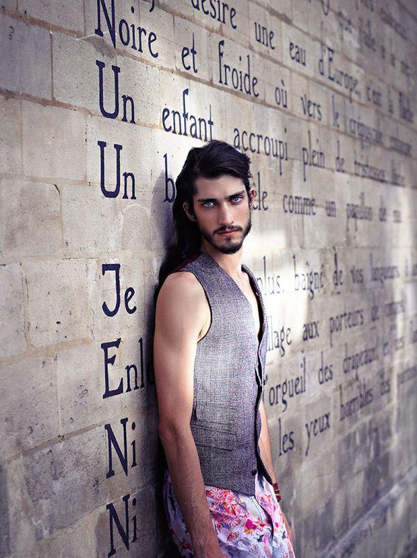 Andres Risso Stares Down No Fake Magazine