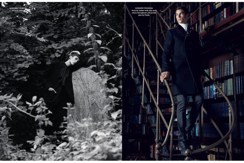Benjamin Alexander Huseby Shoots the Fall/Winter 2012 Collections for AnOther Man