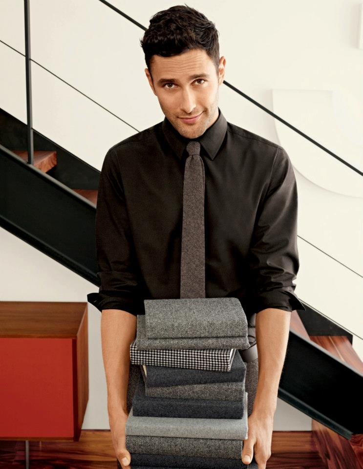 Banana Republic's October 2012 Campaign Features a Refined & Relaxed Noah Mills
