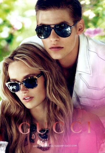 Baptiste Radufe Fronts Gucci's Resort 2013 Eyewear Campaign