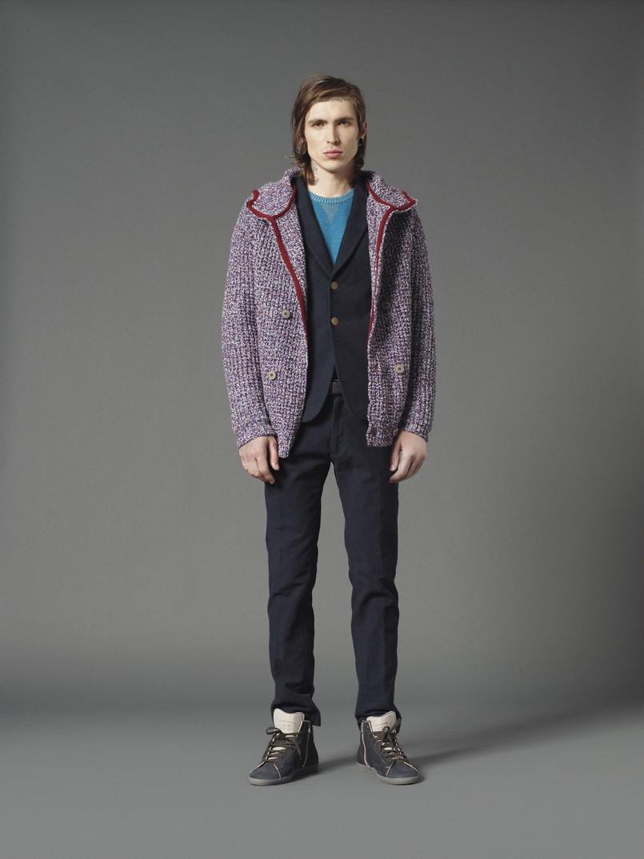 Bradley Soileau for M.Grifoni Denim Fall/Winter 2012 image