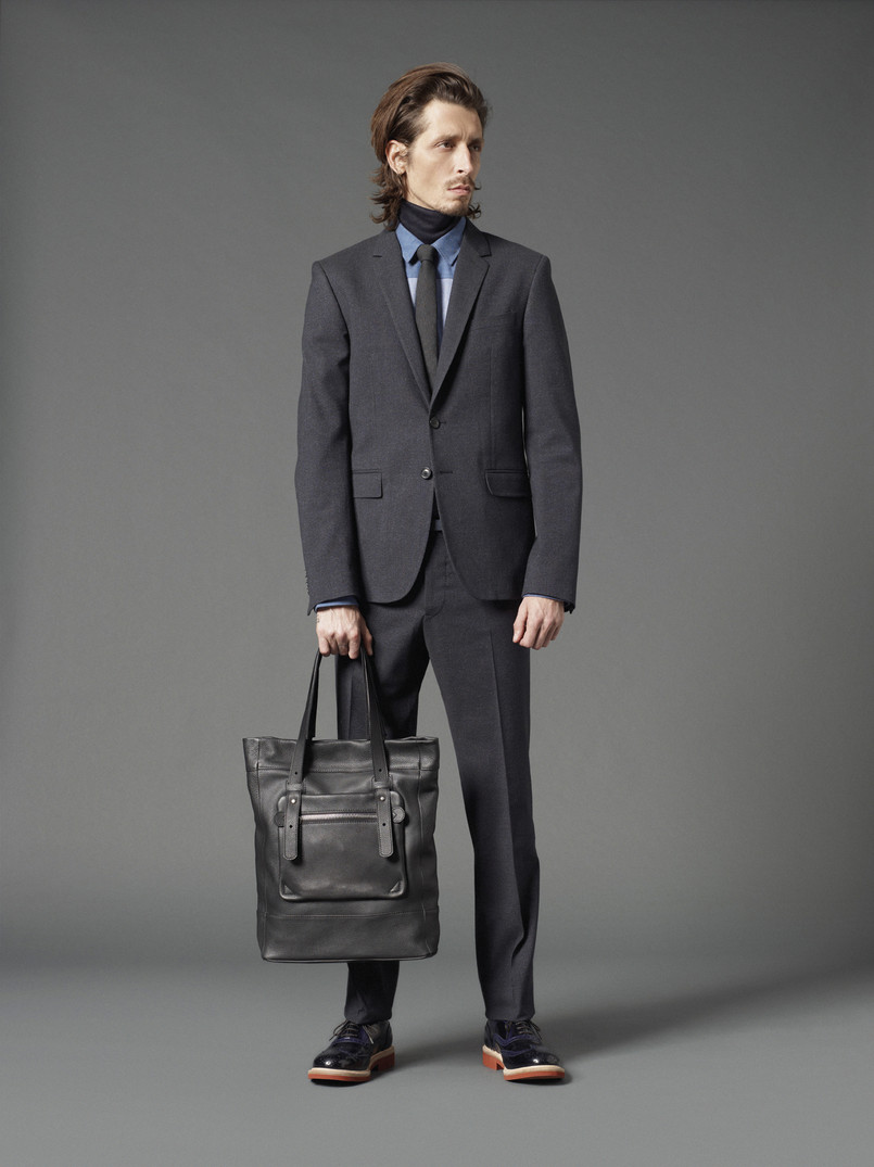 Stephane Olivier Steps into Mauro Grifonis Modern Classics for the Fall/Winter 2012 Season image