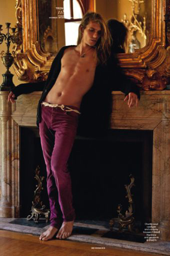 Bruce Machado & Michael Hudson are a Long-Haired Dream for Vogue Hommes International