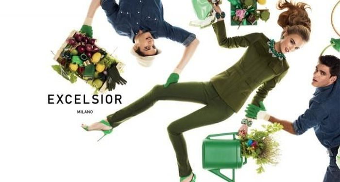 Caio Cesar Has a Green Thumb for Excelsior Milano Fall/Winter 2012 Campaign