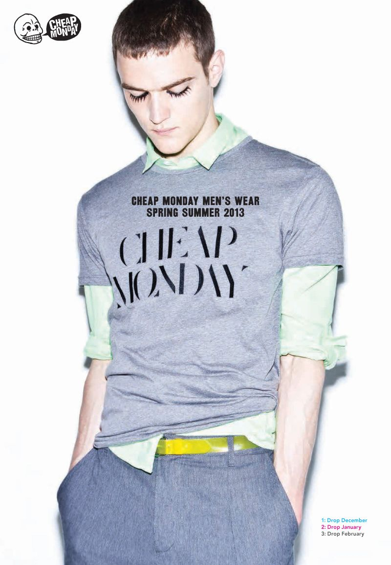 Cheap Monday Embraces Weird for their Spring/Summer 2013 Collection