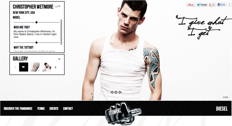 Christopher Wetmore for Diesel Tattoo Gallery