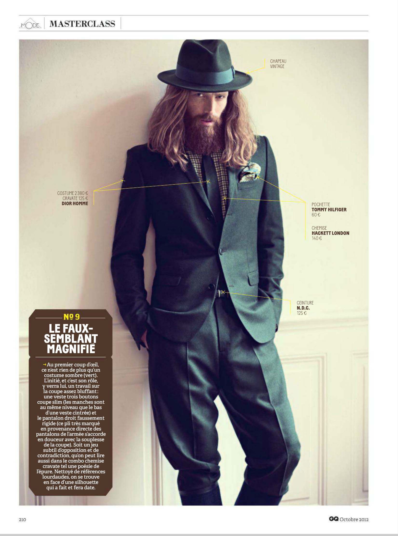 Johnny Harrington is in a Rustic Mood for French GQ