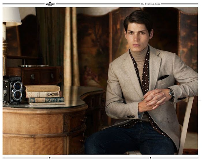 Danny Beauchamp & Sam Way are Quite the Gentlemen for Morris Fall/Winter 2012