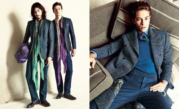 Andres Risso & Francisco Lachowski Clean Up for a Luxe Fall/Winter 2012 Showing from Etro