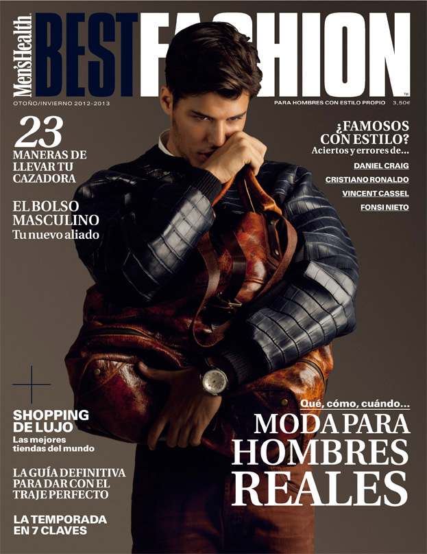 Emilio Flores is Glamorous for Men's Health Spain Best Fashion