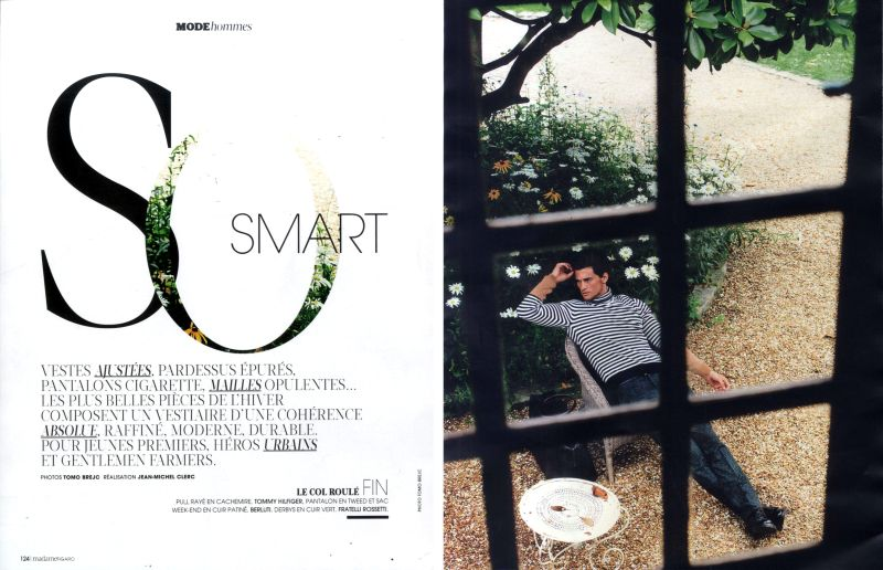 Garrett Neff Tackles Relaxed Luxury for Madame Figaro