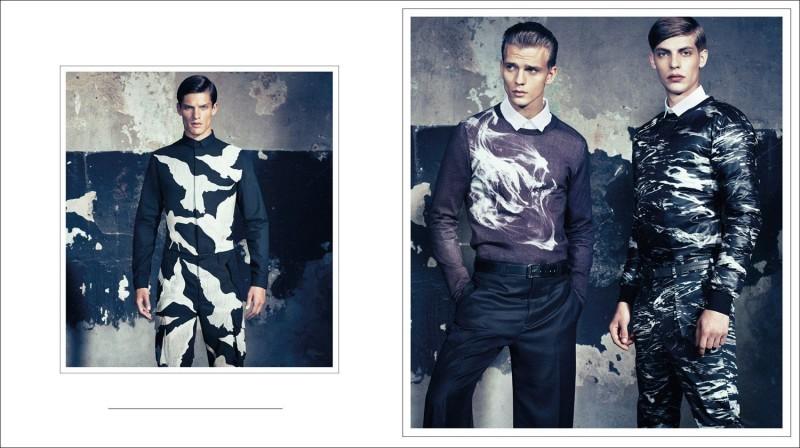 Van Mossevelde+N Shoot 'Mister Fantasy' for GQ Style Italy