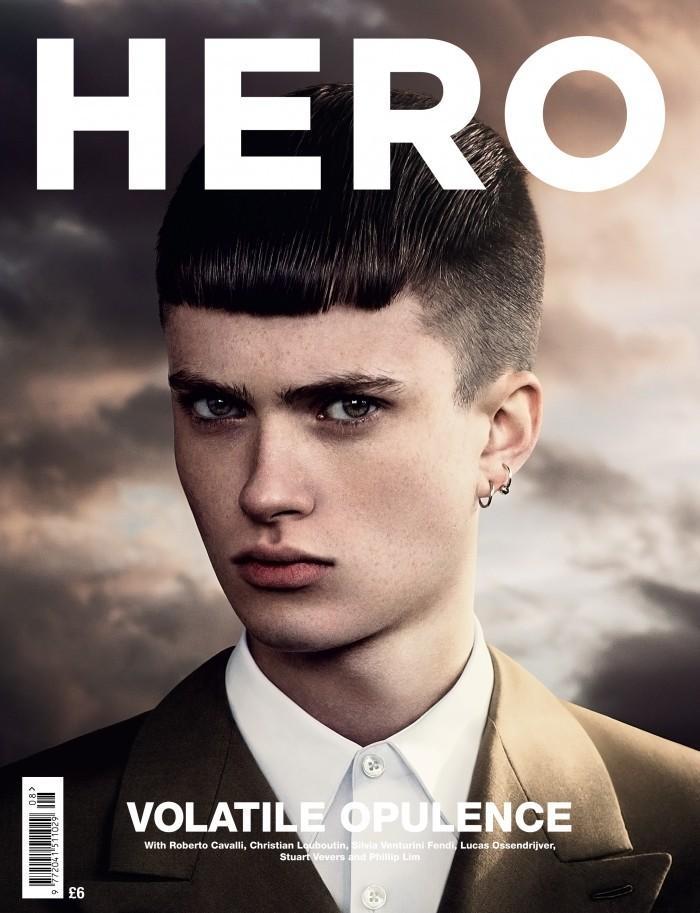 Matt Ardell Covers Hero's Winter 2012 Issue