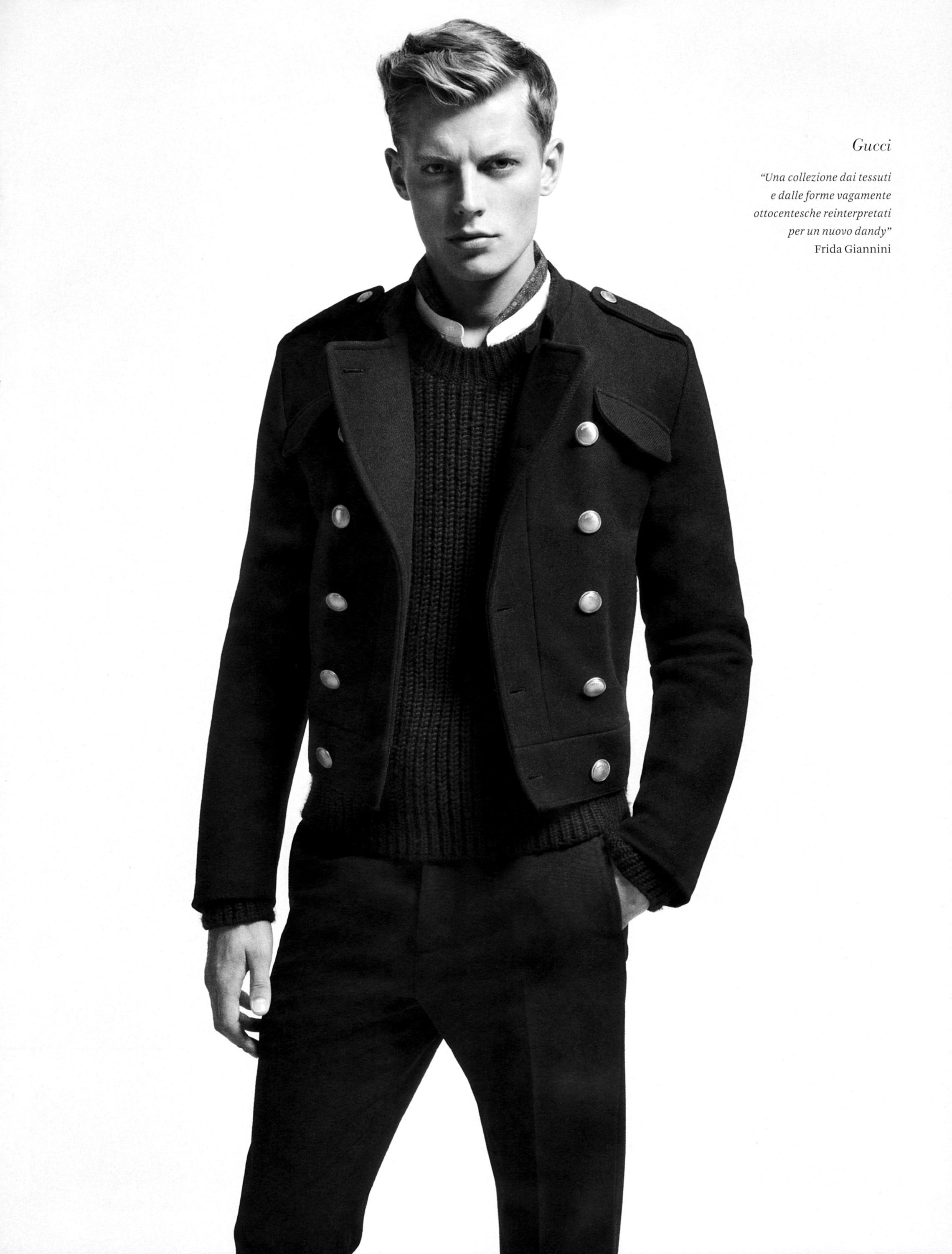 Bastian Thiery, Nicolas Ripoll, Jesse Shannon & Others Don Italian Styles for L'Officiel Hommes Italia