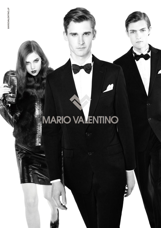 Lowell Tautchin & Marcel Castenmiller are Dashing for Mario Valentino Fall/Winter 2012 Campaign