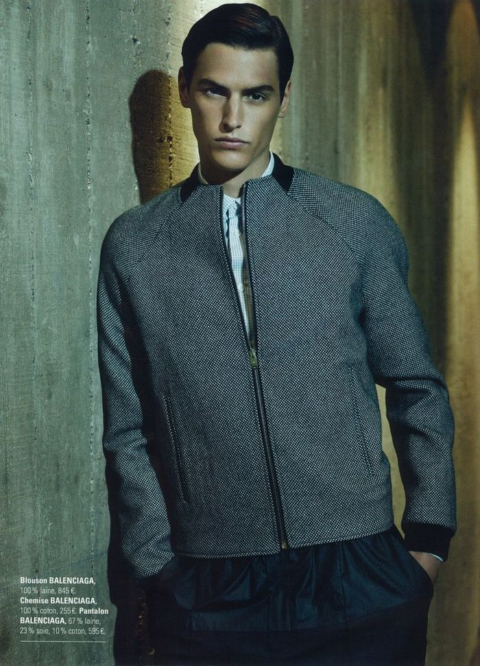 Mathias Bergh Dons Fall/Winter 2012 Fashions for Printemps