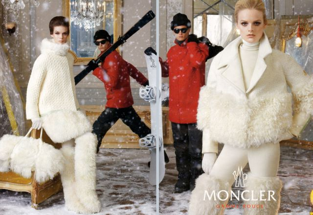 Garrett Neff & Mathias Bergh for Moncler Winter 2012 Campaign