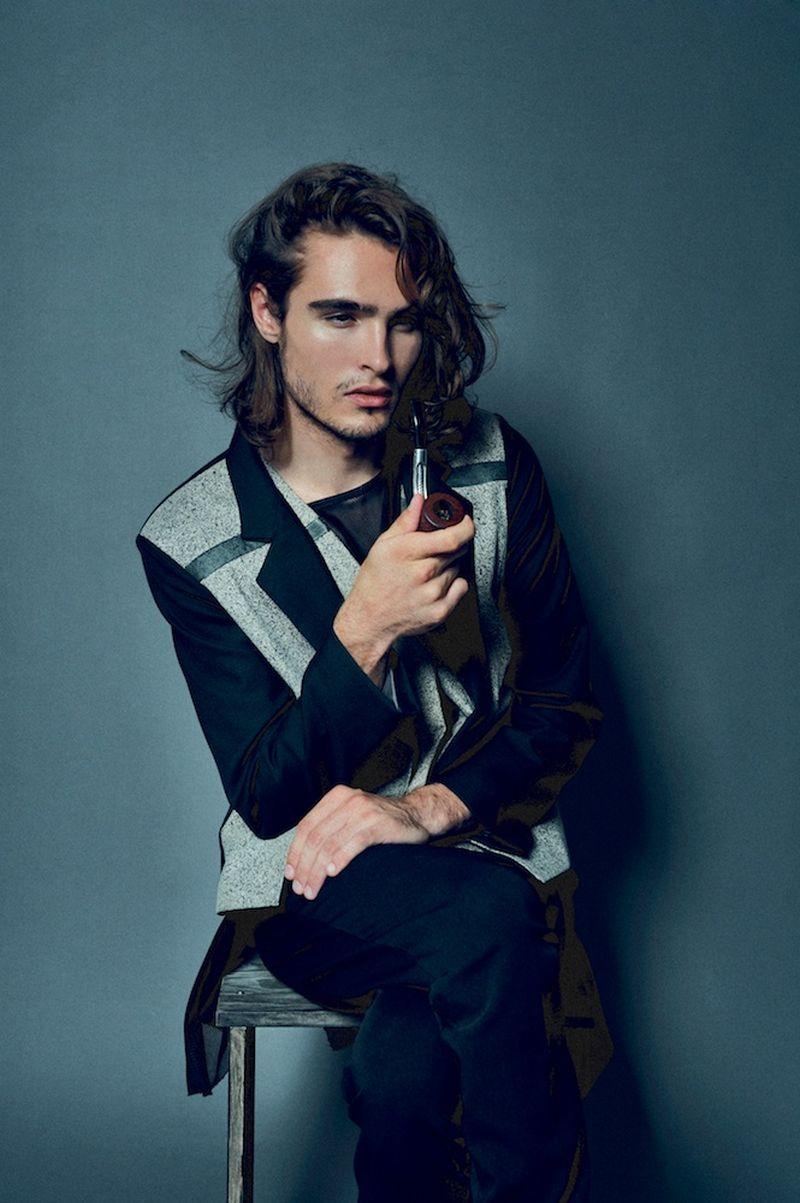 Alexander Habesland Captures Nick Billings in Garments from Jose Isaías