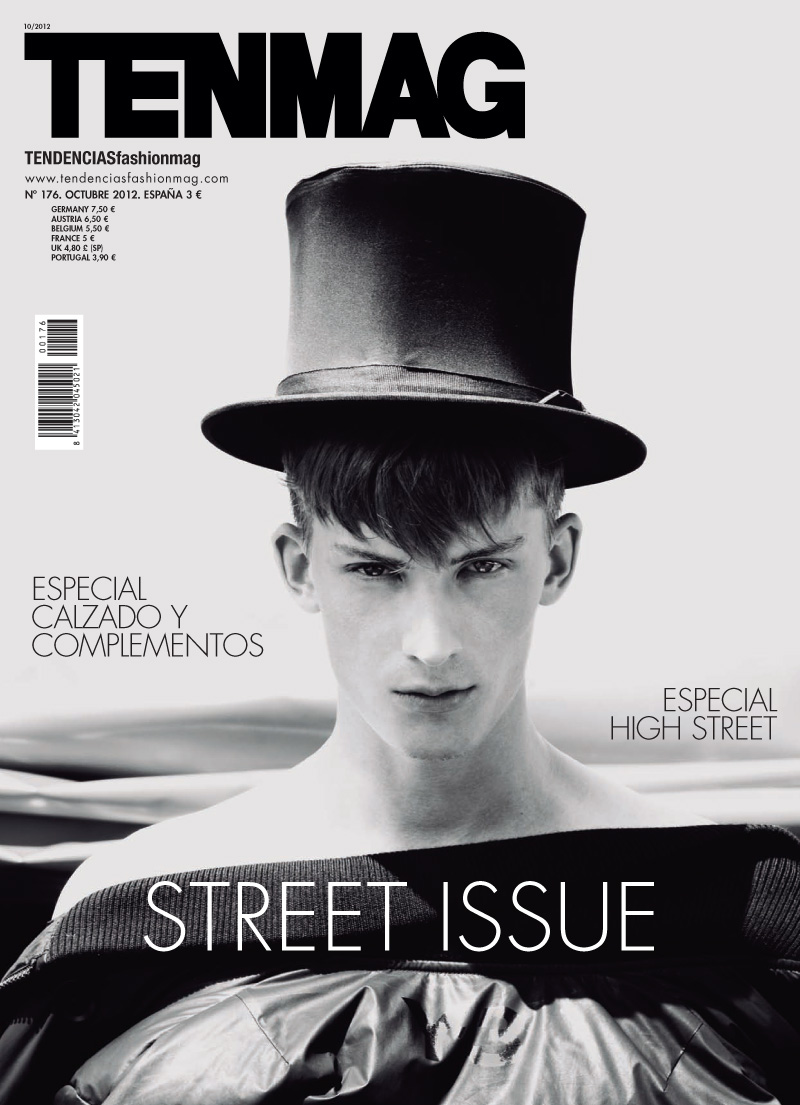 Pavel Baranov Covers the 'Street' Issue of TenMag