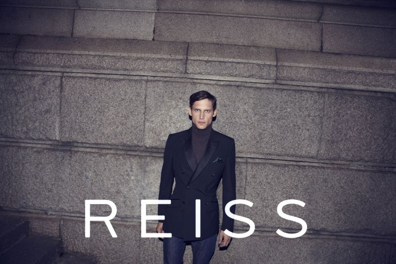 Roch Barbot Steps Out for Reiss Fall/Winter 2012 Campaign