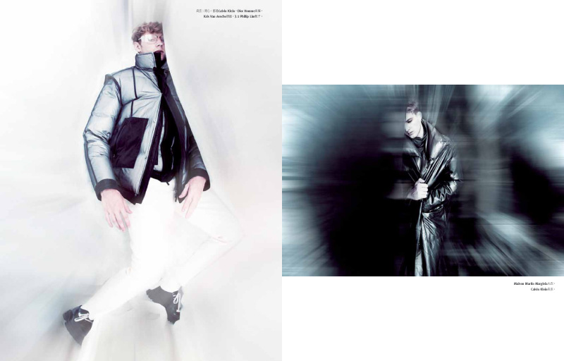 Aiden Andrews & James Smith are in a Dream Haze for GQ Taiwan