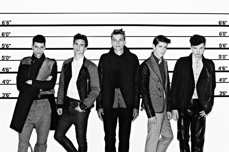 Adam Bates, Jiri Jalfer, Jason Wilder, Nate Hill & Mark Westinghouse in 'The Usual Suspects' by Jonathan Hökklo