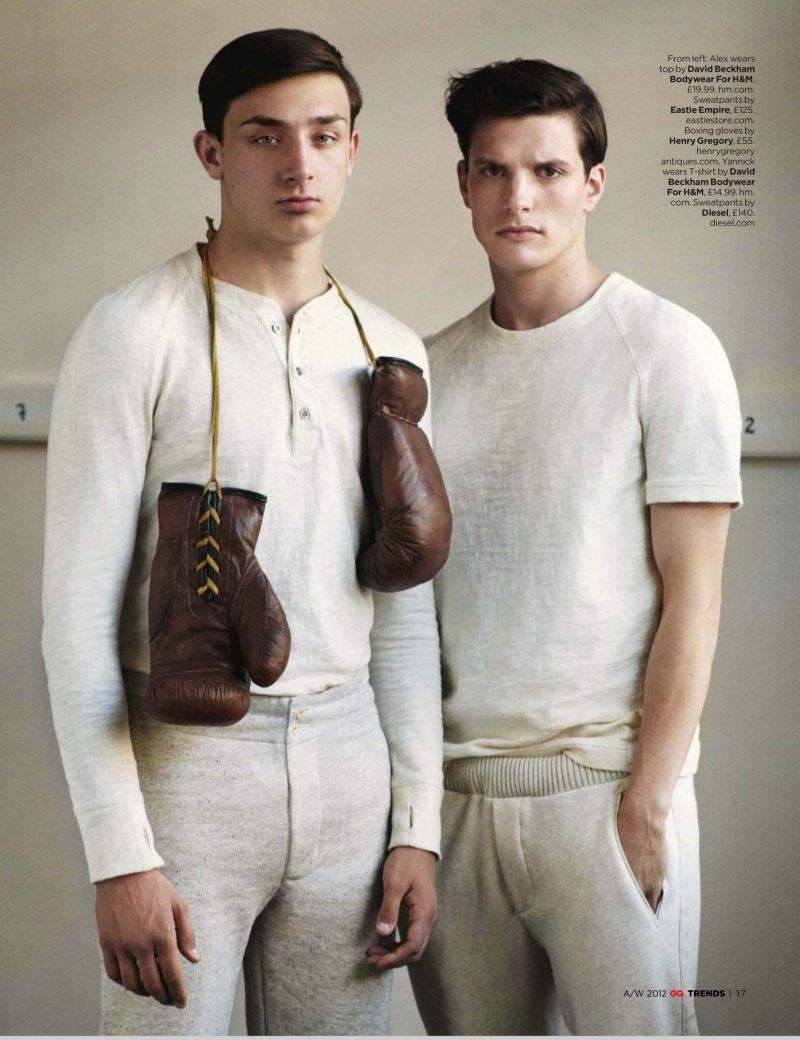 Alex Whipman & Yannick Boetzkes are at the Top of Their Game for British GQ