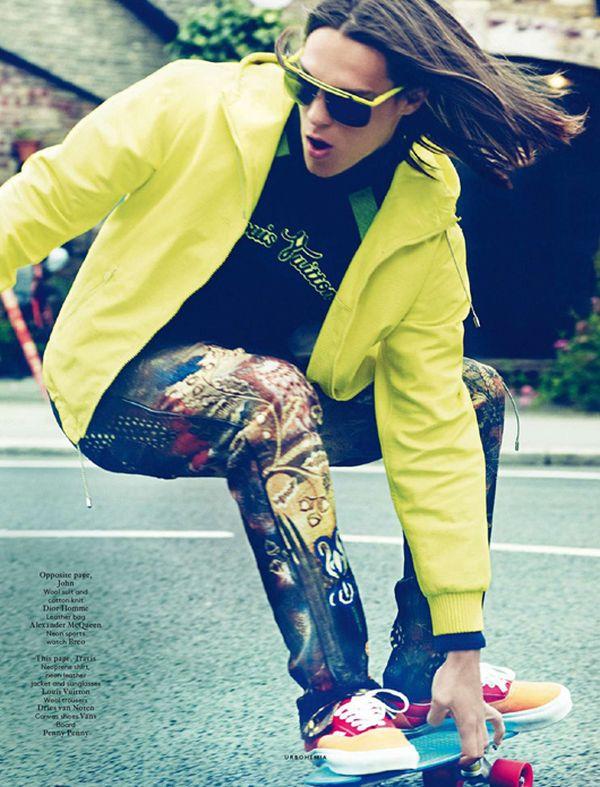John Todd, Travis Smith & Tom Barker are Hip for Vogue Hommes International