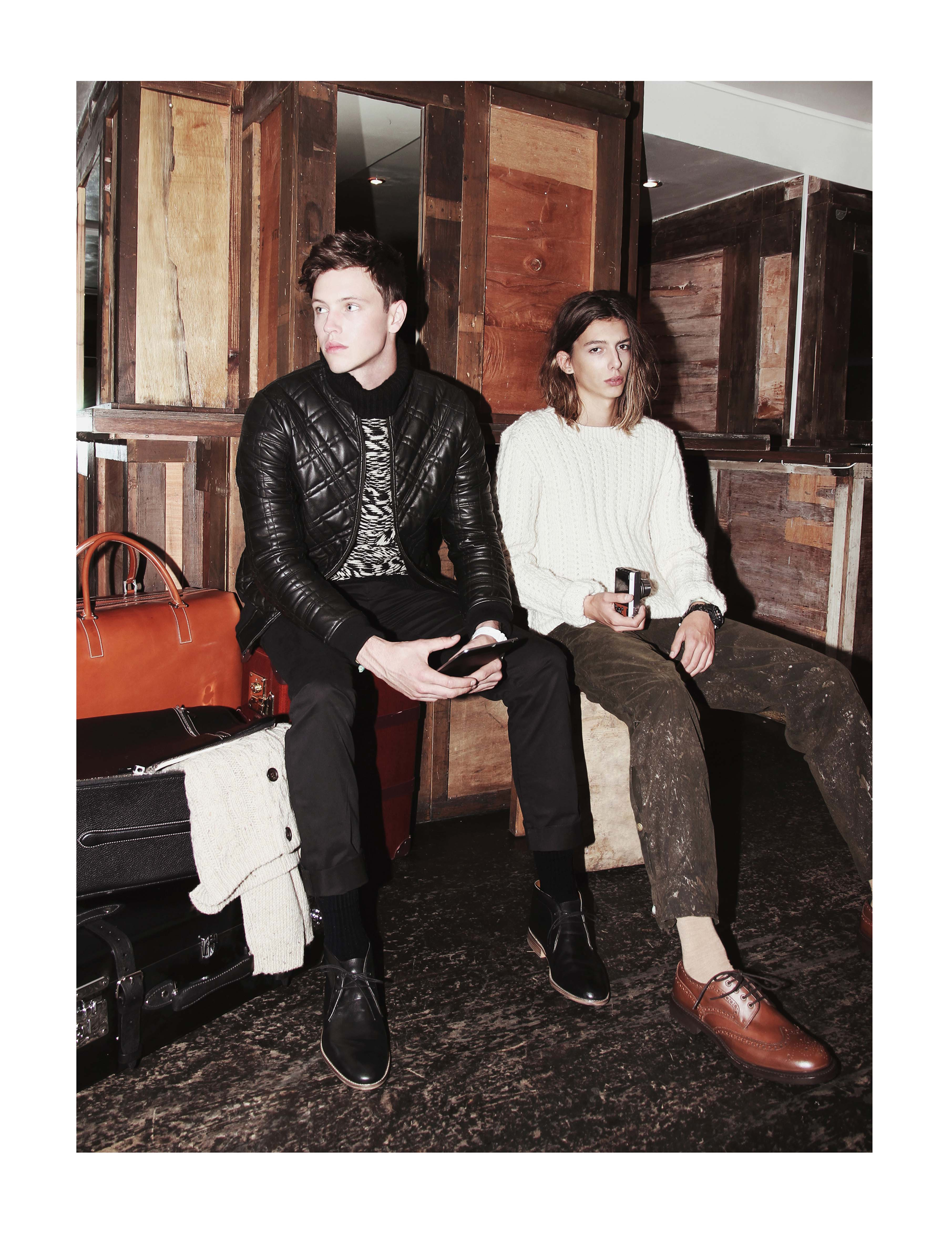 Felix Branch & Jake Cooper Take a Trip for SID Magazine Issue 3