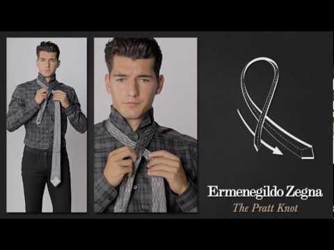 Andrea Preti Teaches How to Tie a Tie for Ermenegildo Zegna's 'Ties Around the World' Collection